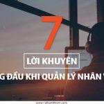 7 LỜI KHUYÊN HÀNG ĐẦU KHI QUẢN LÝ NHÂN VIÊN LÀM VIỆC TỪ XA