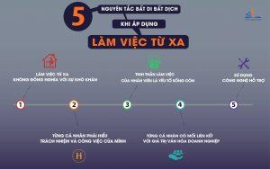 5 nguyên tắc bất di bất dịch khi làm việc từ xa