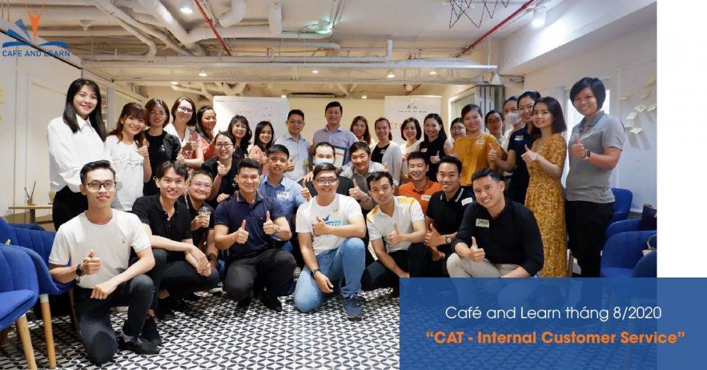 cafe&learn tháng 8
