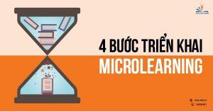 4 bước triển khai microlearning